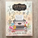 Coloring Book Letters to Live By-0