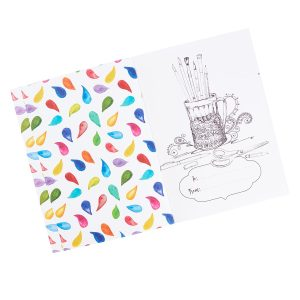 Coloring Journal My Life in Color-0