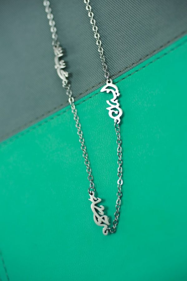 FAITH HOPE LOVE SEPERATED NECKLACE-0