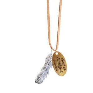 FEATHER WOMEN'S NECKLACE-0