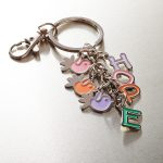 Holly & Hope Charm Keyring with HOPE-0
