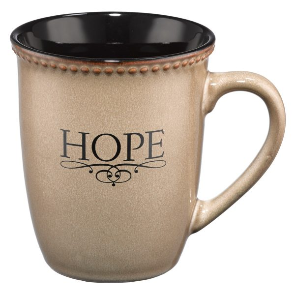 Hope (Ivory) Stoneware Mug-0