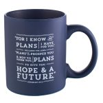 I Know the Plans Mug in Navy-0