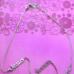 JESUS LOVES ME SEPARATED NECKLACE-0