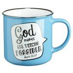 Mug All Things Possible Mk 10:27-0