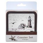 Nautical (Brown) Coaster Set-0