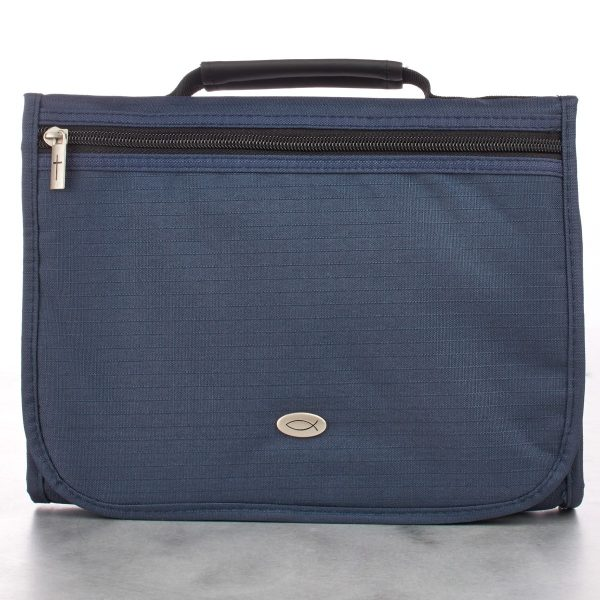 Navy Blue Three-Fold Organizer (Medium)-0