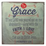 Retro Collection: Grace Wooden Wall Dec?r Plaque-0