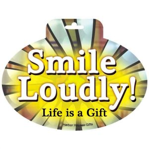 SMILE LOUDLY HOLOGRAPH SM-0