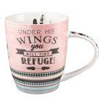 Southwest Style Shelter & Refuge Mug - Psalm 91:4-0