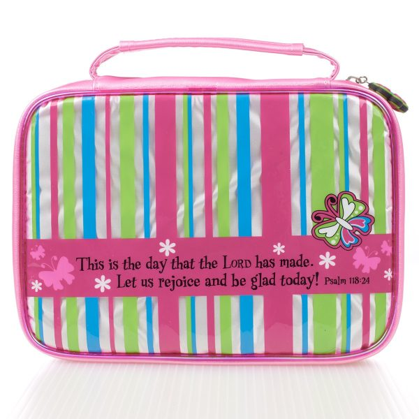 This is the day Striped Bible Cover (Small)-0
