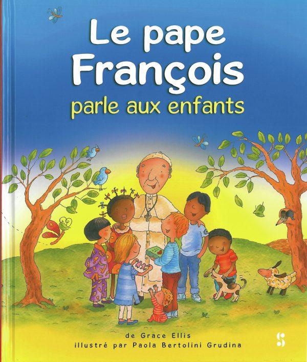 Le Pape Francois parle aux enfants ref. SB0013-0