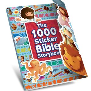 The 1000 Sticker Bible Story Book-0