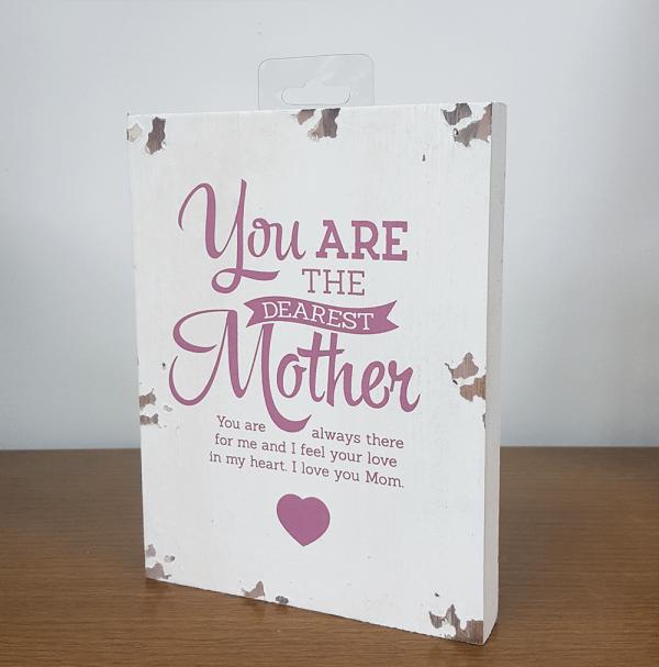 Dearest Mother - wooden-0