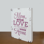 Mom's Love - wooden-0