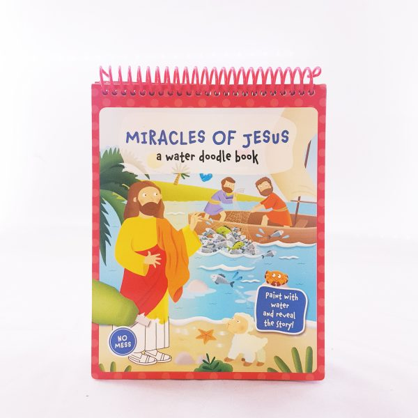Miracle of Jesus a water doodle book-0