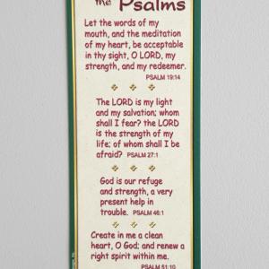 Favorite Psalms Bookmark-0