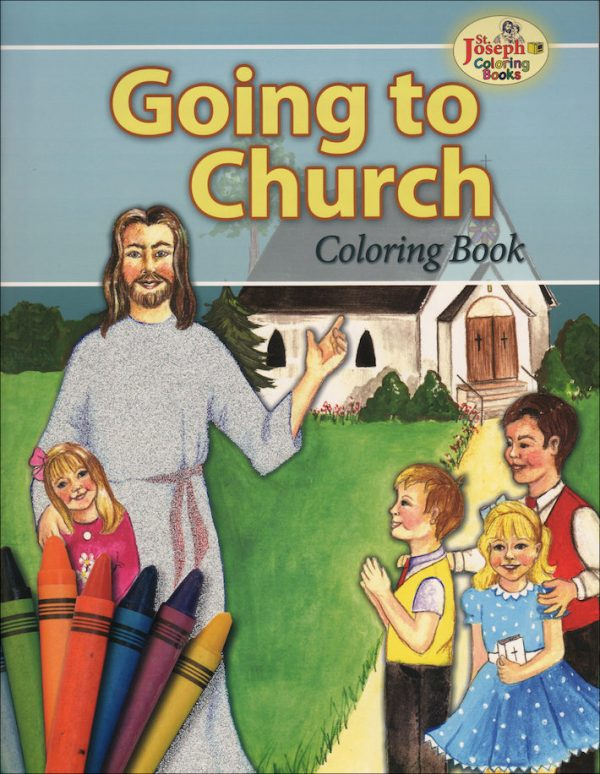 GOING TO CHURCH COLORING BOOK 694-0