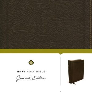 NKJV HOLY BIBLE JOURNAL EDITION BROWN-0
