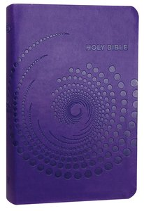 NKJV Deluxe Gift Bible Purple Leathertouch-0