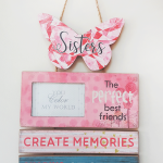 Sister decoration board + picture frame-0