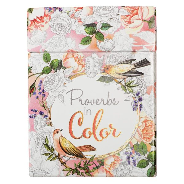 Coloring Cards Proverbs in Color-0