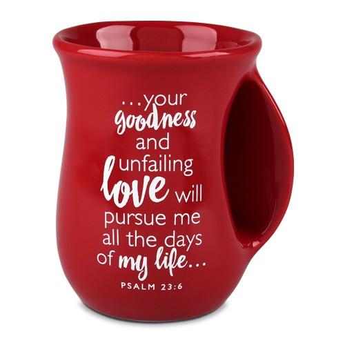 Loved - red handwarmer mug-5734