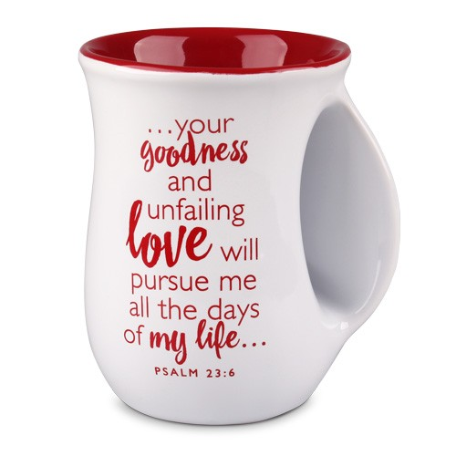 Loved - white handwarmer mug-5736