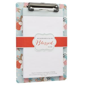 """Blessed"" clipboard for mothers-0"