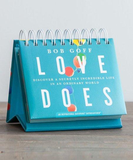 LOVE DOES flip calendar-5776