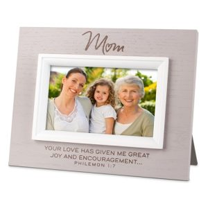 MOM Philemon 1:7 picture frame -0