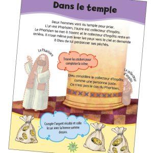 Livre d'activites - Le bon samaritain SB5532 2