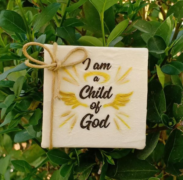 scented soap i am a child of God